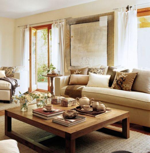 Tips para elegir la mesa de centro para tu living