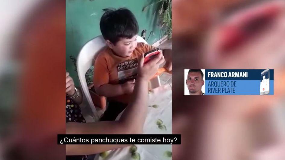 El gran gesto de Franco Armani con un niño de Tucumán