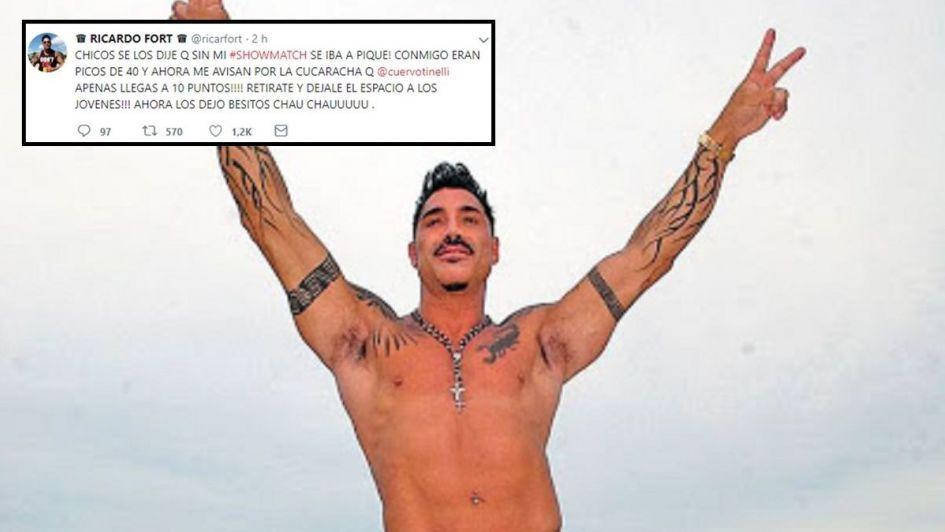 Pura Vida: Ricardo Fort y un polémico mensaje en Twitter