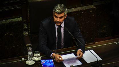 Ayer, el jefe de Gabinete realizó el informe mensual en Diputados.