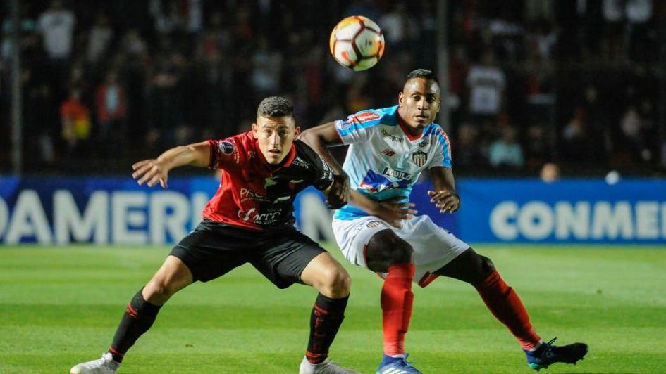 Colón empató con Junior de barranquilla y fue eliminado de la Copa Sudamericana