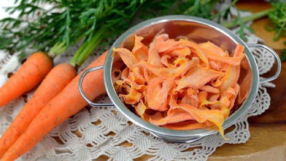 El descarte productivo de zanahoria se convierte en snacks