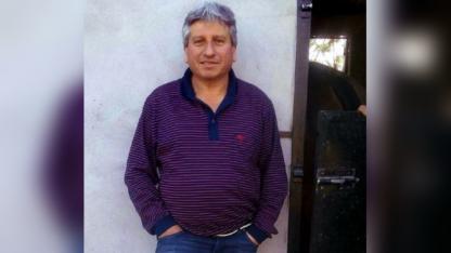 """Dante """"El Gringo"""" Beneite (54), la víctima fatal."""