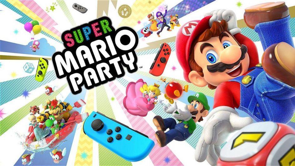 Nintendo lanzó Super Mario Party para la Switch 273ea32ac16e