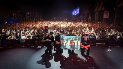 Cypress Hill cerró la fiesta en la Plaza de la Música.