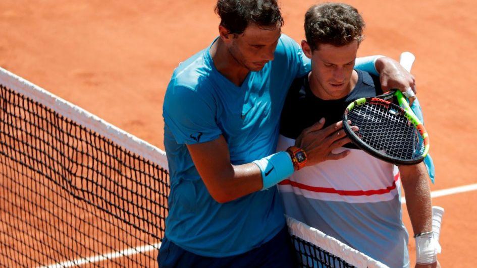 Nadal sigue al frente Djokovic quiere el 1'Delpo mantiene el cuarto y Schwartzman cay