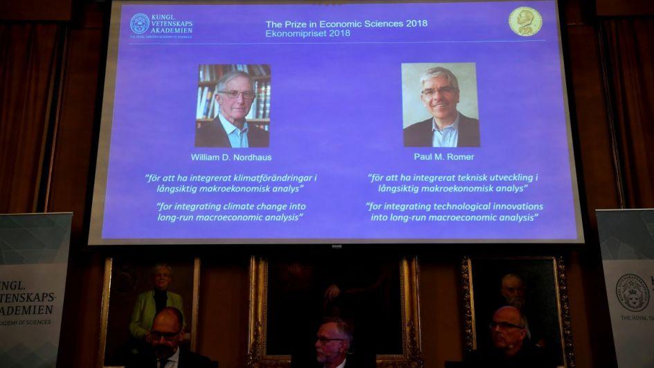 Nobel de Economía para dos estudiosos de Cambio Climático y vida sustentable