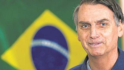 Jair Bolsonaro conmovió a Brasil con su caudal de votos.