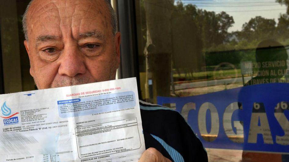 El aumento del gas en Mendoza será mayor para los que consumen menos