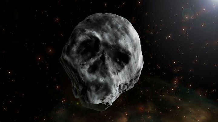 Un asteroide con forma de calavera se acercará a la Tierra en Halloween
