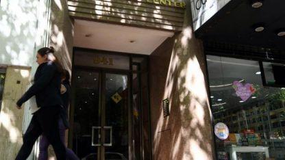 Escenario. El edificio Presidente Center, donde fue encontrado el cuerpo de la muchacha.