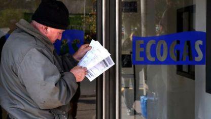 Más gasto. Las bajas temperaturas invernales obligaron a los usuarios a demandar más gas que en la temporada anterior.