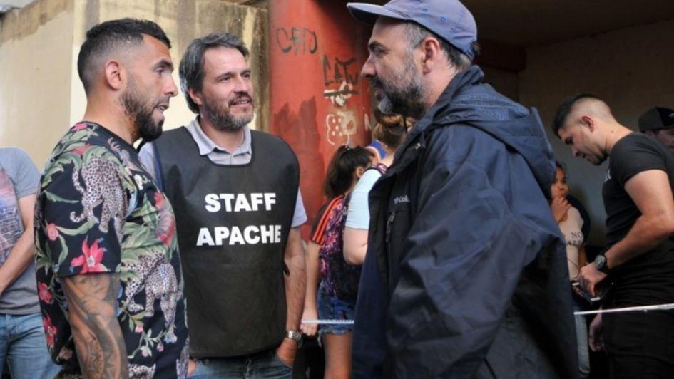 Mirá quién es el actor que interpretará a Tevez en su serie