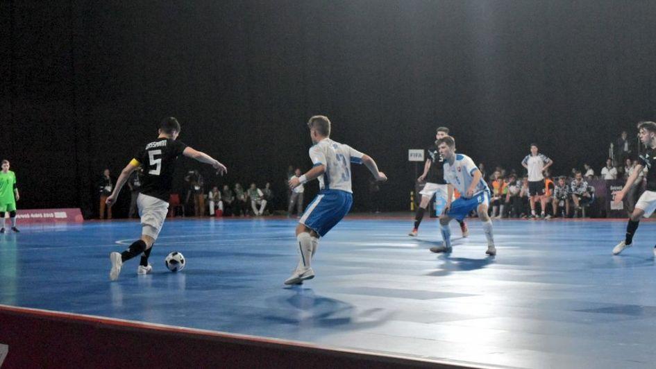 JJOO de la Juventud: Los Andes presente en el triunfo de la Selección Argentina de Futsal
