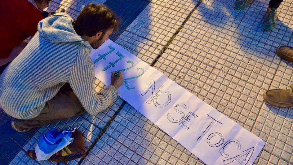 Unas 4.000 personas se manifestaron a favor de la ley 7.722 en Alvear