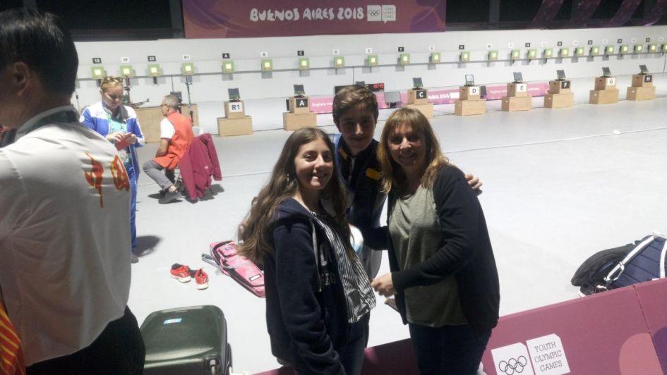 Juegos Olímpicos de la Juventud: el mendocino Firmapaz ganó la medalla de bronce en tiro