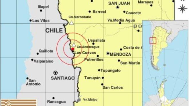 Un sismo despertó a los mendocinos durante la madrugada