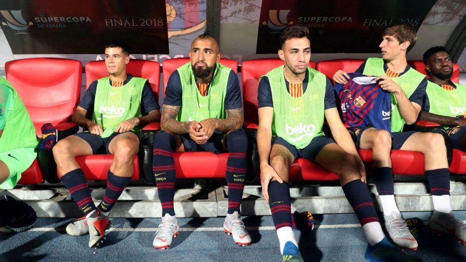 El Barcelona le marcó la cancha a Arturo Vidal por