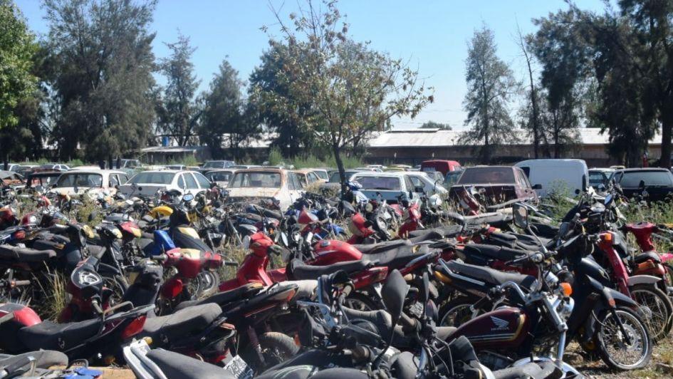 Godoy Cruz rematará 29 motos y 9 autos: cómo participar