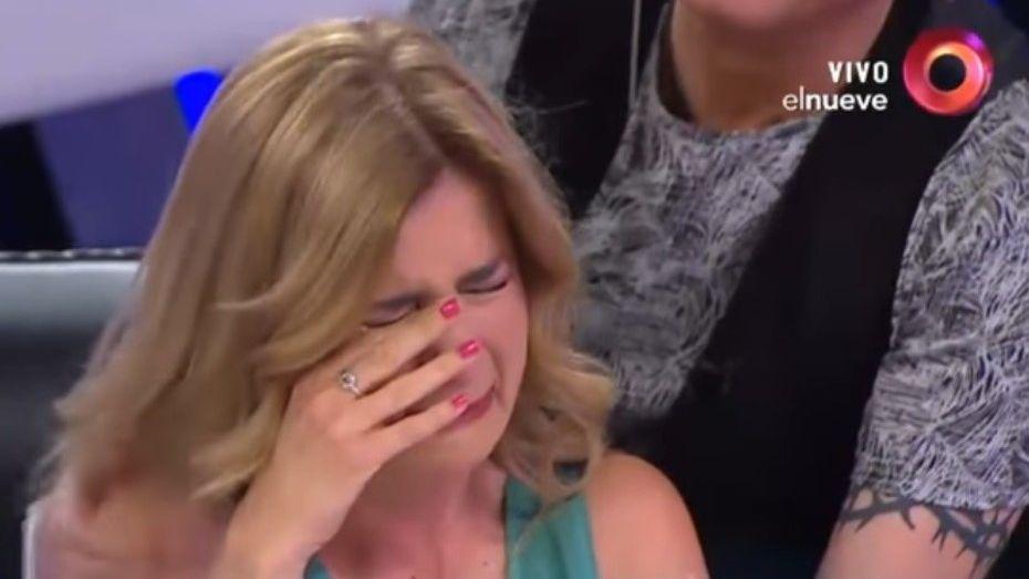 Mercedes Ninci no para: se puso a llorar de nuevo al aire en