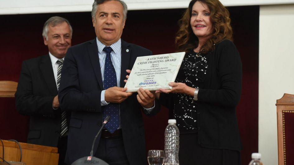 Premiaron al Gobierno de Mendoza por una base de datos de ADN de criminales