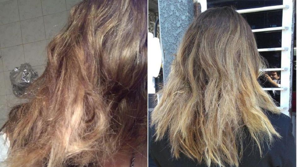 Escrachó a peluquero por quemarle el pelo, se viralizó y él la denunció por discriminación