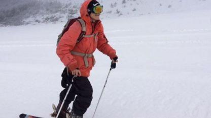 Martín Rossi (22) falleció este jueves en el centro invernal La Hoya.