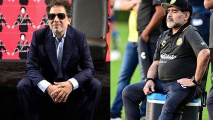 Andrés Calamaro le escribió una canción a Maradona.