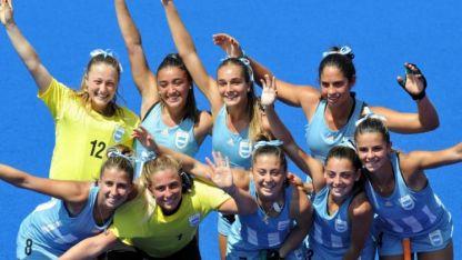 Impresionante. Con la mendocina Gianella Palet (camiseta 7), buscarán ser las mejores de la rama femenina.
