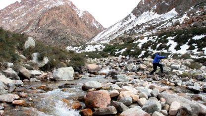Protegidos. La intención de la fundación es asegurar que el espacio sea preservado para quienes hacen andinismo, trekking y escalada.
