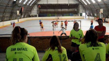 Gran participación. Desde el Gobierno provincial quedaron satisfechos por la cantidad de chicos que disputaron las competencias.
