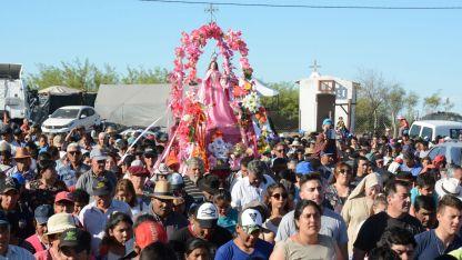 Imagen del tradicional festejo religioso y popular.