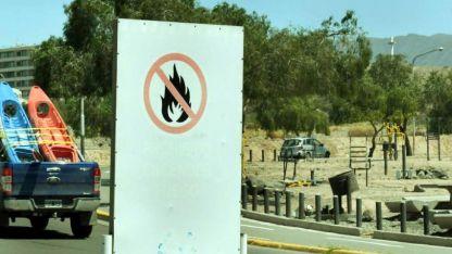 La prohibición de encender fuego se extiende entre Regalado Olguín y el mirador de San Isidro.