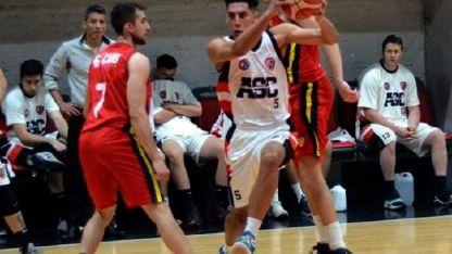 El venezolano Alejandro Bernal (ASC) metió el doble de la victoria.