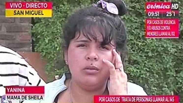 Una doble pared: el lugar donde encontraron el cuerpo de Sheila Ayala