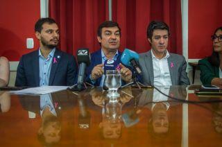 """El intendente de Luján aseguró que el frente """"está más fuerte que nunca""""."""
