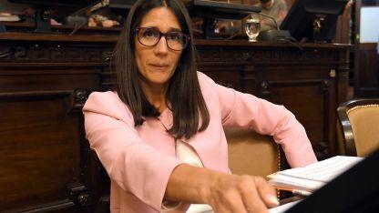 La senadora por el PRO, Cecilia Páez.