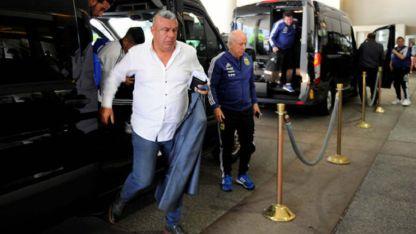 Tapia aseguró que todavía no habla con ningún entrenador para el futuro.