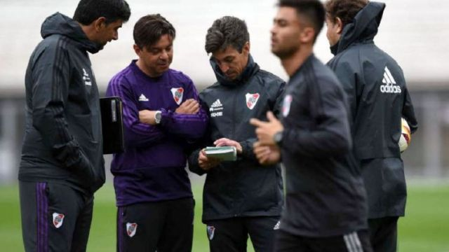 Gallardo pondrá esta noche en Santa Fe un equipo con varias alternativas.