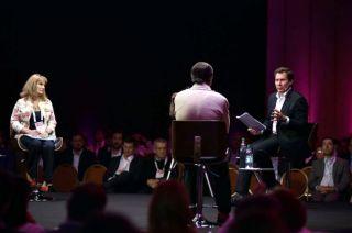 """Mendocino. El bodeguero Alberto Arizu participó ayer del panel """"Cooperar para ser competitivos""""."""