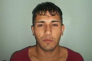 Exequiel Díaz Crespin (23), el preso fugado.