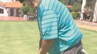El ganador del torneo, Diego Videla.