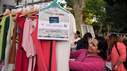 """Comercio. Los Andes Pass promocionó la propuesta """"Arístides de Feria"""", con el auspicio de la Municipalidad de Mendoza."""