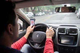 De prueba. Los Andes viajó con Jorge, conductor profesional que utilizó 8 minutos en hora pico para llegar al Parque desde el Km 0.