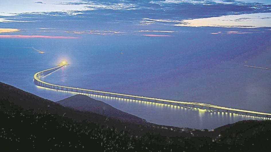 Megaobra: un puente que agranda a China