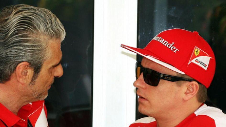 El jefe de Ferrari tomó la decisión de despedir a Raikkonen