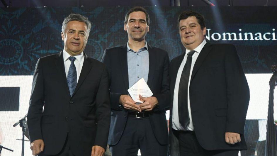 Luis Robbio fue elegido Ejecutivo del año