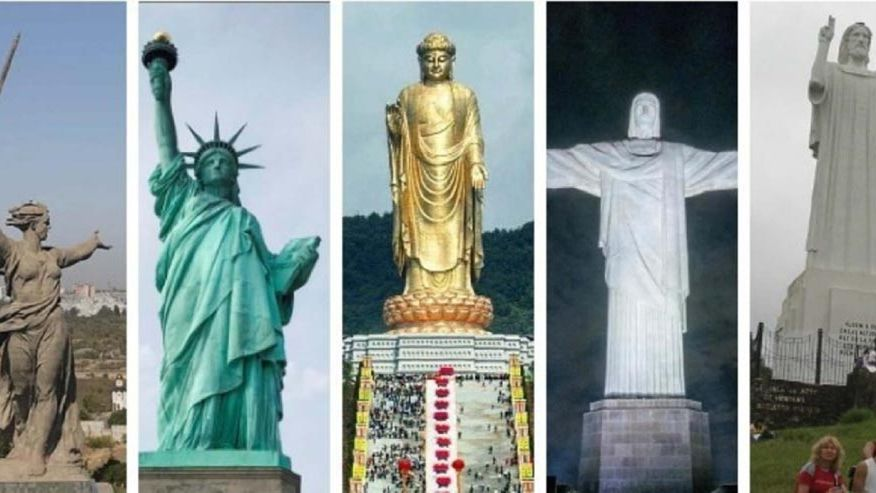 India inauguró la estatua más alta del planeta