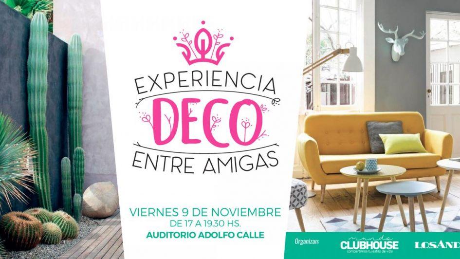"""Últimas vacantes """"Experiencia Deco entre Amigas"""""""