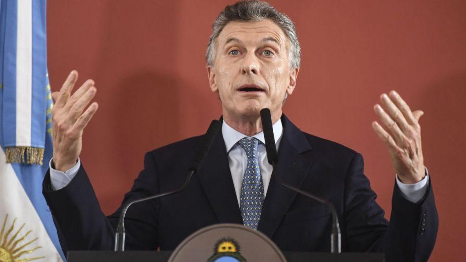 """Macri: """"En 2025 la energía renovable cubrirá el 20% de la demanda"""""""